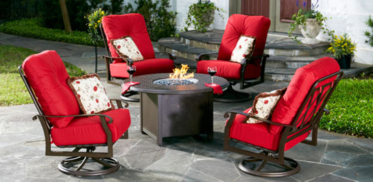 Courtland Cushion Series Patio Set