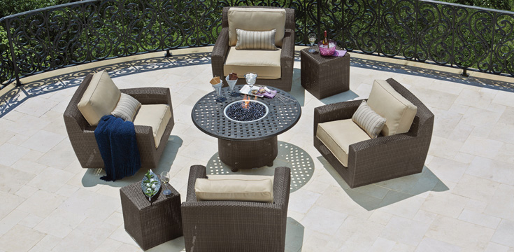 saddleback patio furniture series