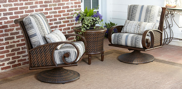north shore wicker collection