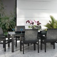 Elements Sling Patio Furniture Set From Homecrest Outdoor