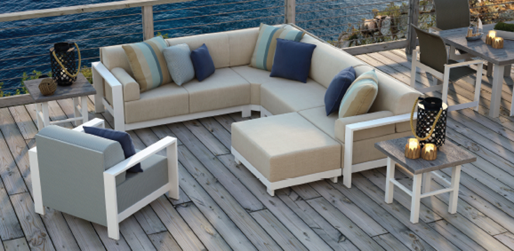 Grace Modular Outdoor Patio Furniture Collection From Homecrest Outdoor