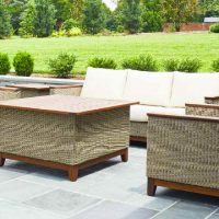 The Coral Outdoor Furniture Series from Jensen Leisure