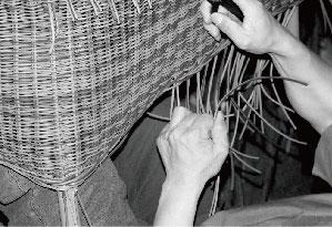 Handcrafted Wicker Weaving