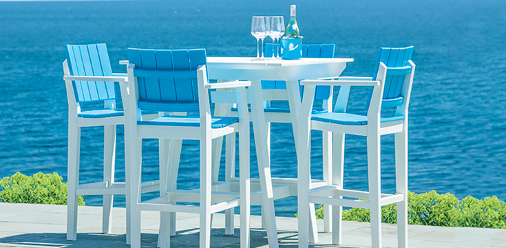 Seaside MAD Series poly lumber outdoor furniture